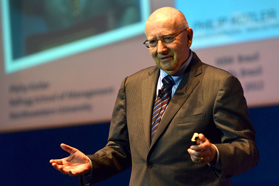 Philip Kotler<br>S.C. Johnson and Son Distinguished Professor of International Marketing at the Kellogg School of Management