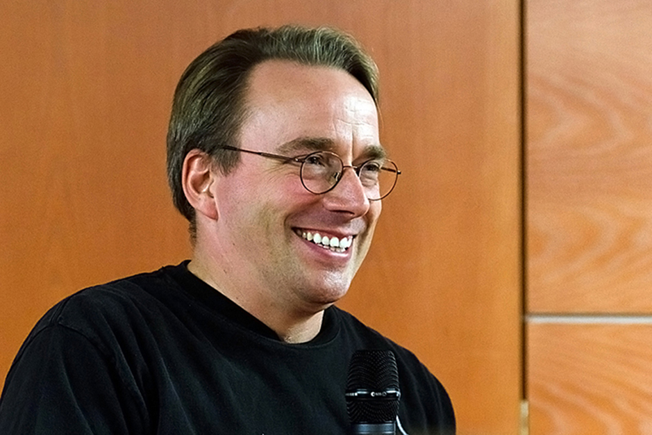 Linus Torvalds<br>Creator of Linux and Git; Software Engineer, Linux Foundation